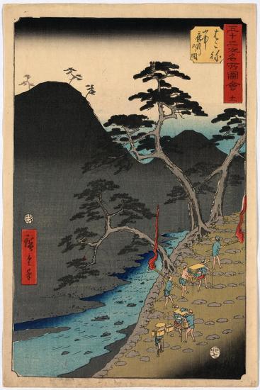 Hakone-Utagawa Hiroshige-Giclee Print