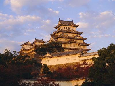 Hakuro-Jo (White Egret) Castle, Himeji, Japan-Charles Bowman-Photographic Print