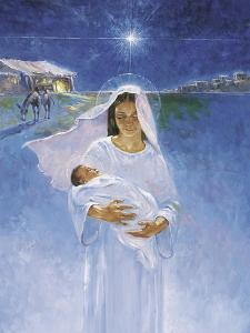 Mary with Jesus by Hal Frenck