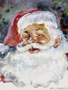 Santa Face by Hal Frenck