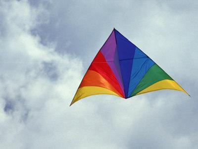 Colorful Delta Kite