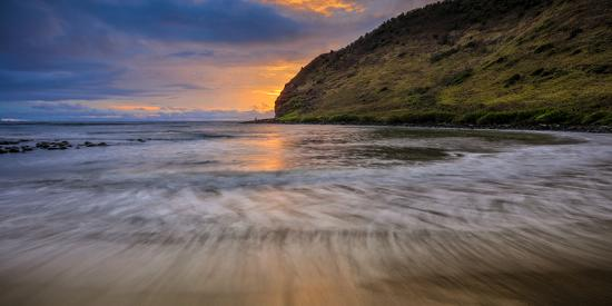 Halawa Beach on Molokai's East End-Richard A^ Cooke-Photographic Print