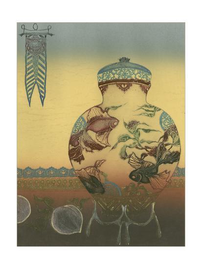 Halcyon Urn II--Art Print