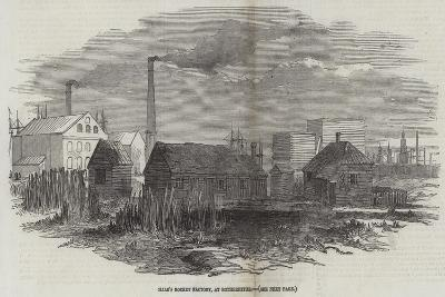 Hale's Rocket Factory, at Rotherhithe--Giclee Print