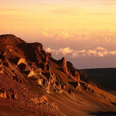 Haleakala Crater, Haleakala National Park, Maui, Hawaii, USA-Wes Walker-Photographic Print