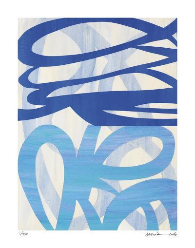 Half and Half 1-Maria Lobo-Giclee Print