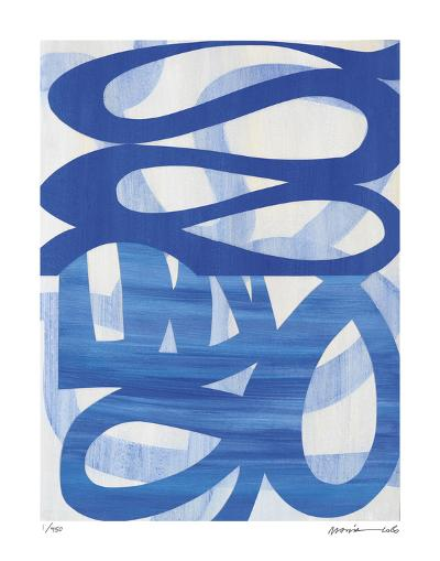 Half and Half 2-Maria Lobo-Giclee Print