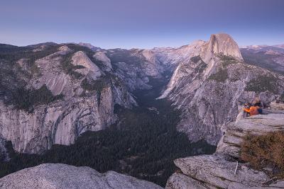 Half Dome and Yosemite Valley from Glacier Point, Yosemite National Park, California-Adam Burton-Photographic Print