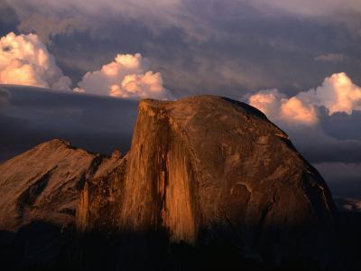 Half Dome in Yosemite National Park, Yosemite National Park, USA-Kraig Lieb-Photographic Print