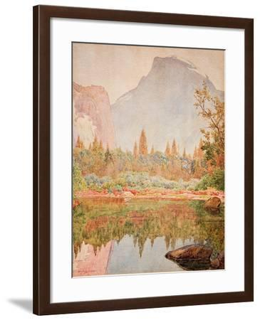 Half Dome, Yosemite, 1926-Gunnar Widforss-Framed Giclee Print