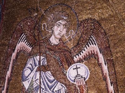 Half-Figure of Archangel Michael--Giclee Print