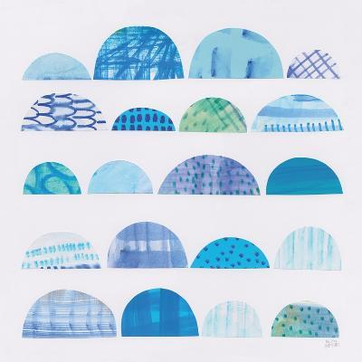 Half Moon Abstract I-Melissa Averinos-Art Print