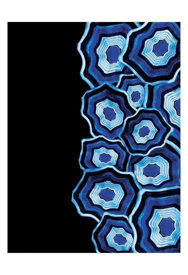 Half Of Blue Agates-Jace Grey-Art Print