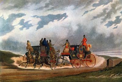 Half Way (Leeds Coac), 1837-Charles Cooper Henderson-Giclee Print