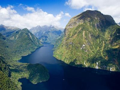 Hall Arm, Doubtful Sound, Fjordland National Park, South Island, New Zealand-David Wall-Photographic Print