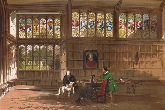 'Hall at Ockwells, Berkshire', 1845-Unknown-Giclee Print