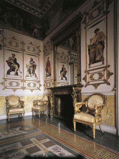 Hall of Apollo, 1835, Royal Castle of Racconigi--Photographic Print