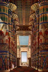 Hall of Columns, Karnak, Egypt, 1908-1909