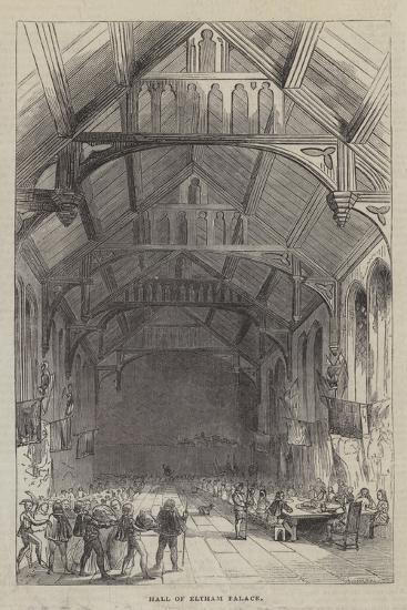 Hall of Eltham Palace--Giclee Print