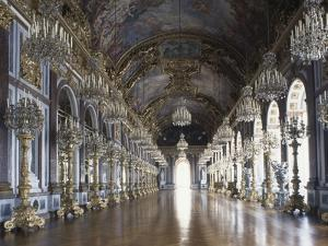 Hall of Mirrors in Herrenchiemsee