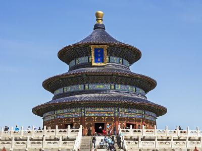Hall of Prayer for Good Harvests, Temple of Heaven (Tian Tan), Beijing, China-Gavin Hellier-Photographic Print