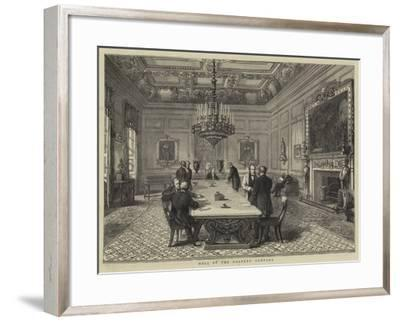 Hall of the Drapers' Company--Framed Giclee Print