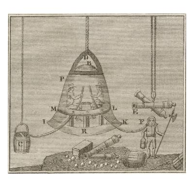 Halley's Bell--Giclee Print