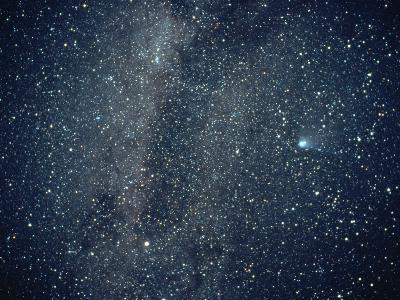 Halley's Comet in the Southern Sky-Roger Ressmeyer-Photographic Print