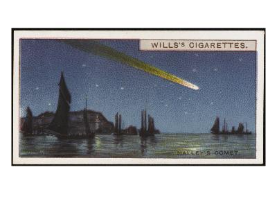 Halley's Comet--Giclee Print