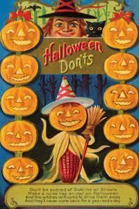 Hallowe'en Don'ts