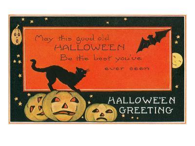 Halloween Greeting, the Best--Art Print