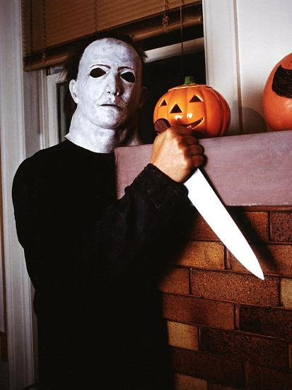 Halloween, Nick CAstle as Mike Myers, 1978--Photo