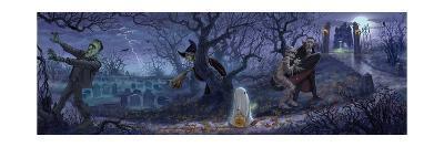 Halloween Scene-Jason Bullard-Giclee Print