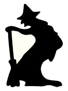 Halloween, Witch Silhouette