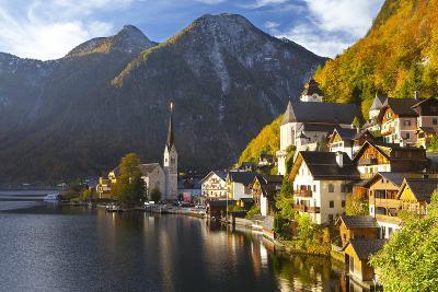 Hallstatt, UNESCO World Heritage Site, Salzkammergut, Austria, Europe-Miles Ertman-Photographic Print