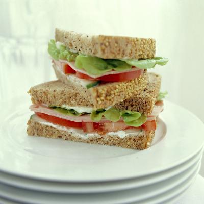 Ham Salad Sandwich-David Munns-Photographic Print