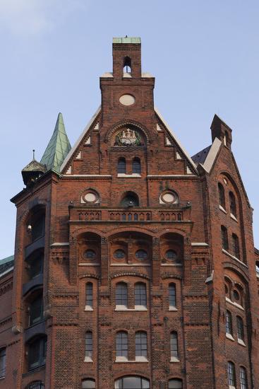 Hamburg, Speicherstadt, Gable-Catharina Lux-Photographic Print
