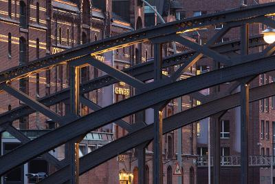 Hamburg, Speicherstadt, Kehrwieder-Catharina Lux-Photographic Print