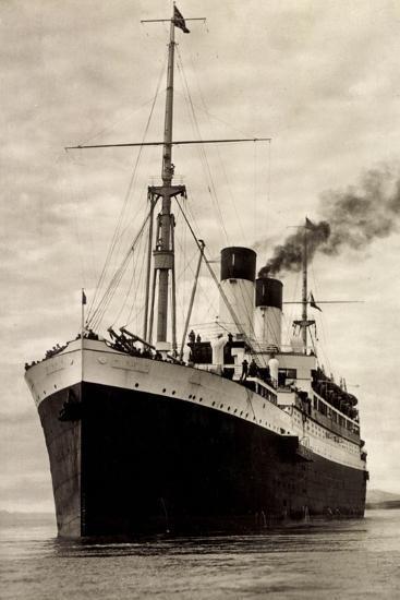 Hamburg Süd, HSDG, M.S. Monte Sarmiento, Dampfer--Giclee Print