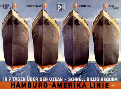 Hamburg to America Line