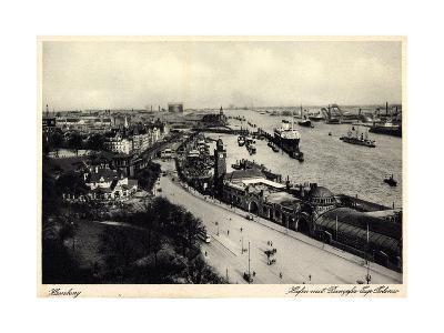Hamburger Hafen, Dampfer Cap Polonio, Hsdg--Giclee Print