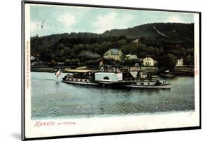 Hameln, Am Klütberg, Dampfer Kaiser Wilhelm, Weser