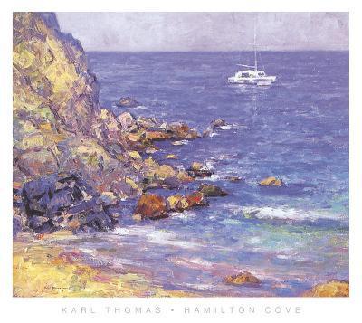 Hamilton Cove-Karl Thomas-Art Print