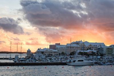 Hamilton Harbor Sunset, Bermuda-George Oze-Photographic Print