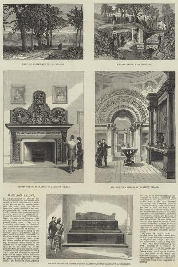 Hamilton Palace--Giclee Print