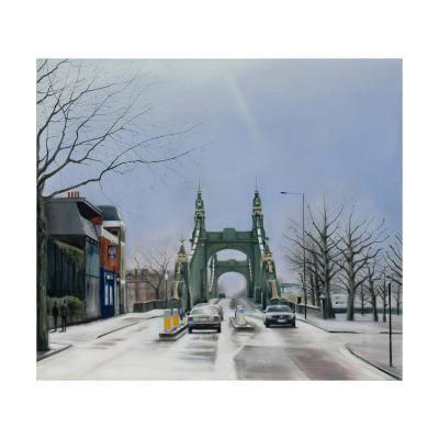 Hammersmith Bridge, Noon, 2007-Georgia Peskett-Giclee Print