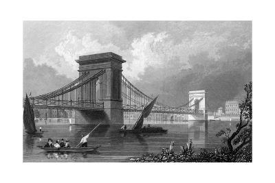 Hammersmith Bridge--Giclee Print