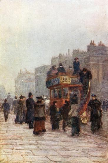 Hammersmith 'Bus-Rose Maynard Barton-Giclee Print