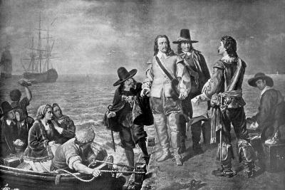 Hampden and Pym Prevented from Emigrating to New England by Order of the Government, 1926--Giclee Print