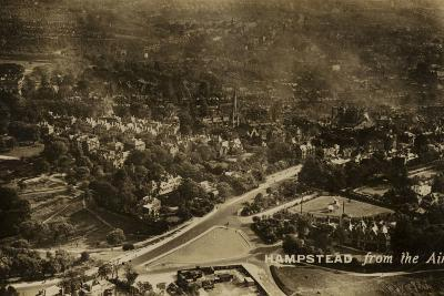 Hampstead from the Air--Photographic Print
